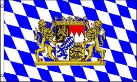Flag - Bavaria Lion - Oktober Fest - 3' x 5' - Polyester - New in Tacoma, Washington