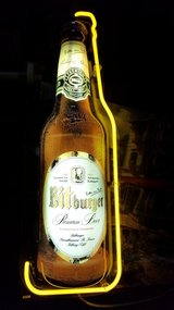 ** bitburger neon sign** in Ramstein, Germany