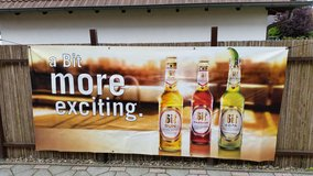 bitburger banner XXL in Ramstein, Germany