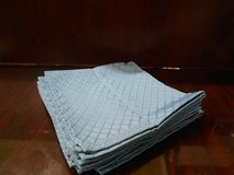 Light Blue Cloth Napkins (8) in Kingwood, Texas
