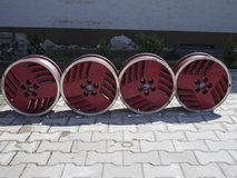 Set of Pontiac 1991 Grand Am SE cast aluminum rims in Ansbach, Germany