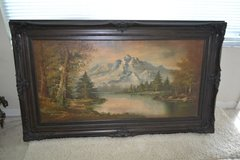 Ornate Wood Framed Art-Antique in Alamogordo, New Mexico