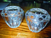 vintage  Crystal Candle Stick Holder Enique in Fort Campbell, Kentucky