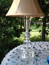 Pretty vintage glass table  lamp in Westmont, Illinois