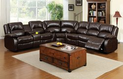 WINSLOW RECLINING SECTIONAL FREE DELIVERY in Huntington Beach, California