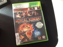 Xbox 360 mortal kombat komplete edition in 29 Palms, California