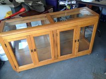 Half price-Lighted Display Cabinet in Naperville, Illinois