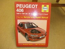 HAYNES MANUAL PEUGEOT 406 PETROL in Lakenheath, UK