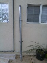 Galvanized Fencing Post with hinges in Alamogordo, New Mexico