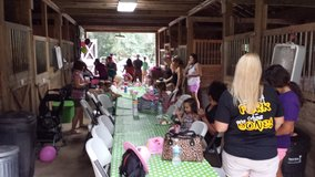 Pony Birthday Parties and Horse Back Riding Event Venue in Dover, Tennessee