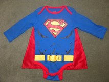 Baby 6M Superman Onesie w Cape NWOT in Glendale Heights, Illinois