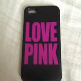 Victoria Secret Love Pink Case for Iphone 5 in Yorkville, Illinois