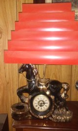 Horse Lamp/  Clock in Alamogordo, New Mexico