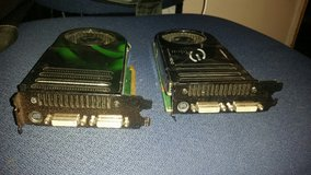 2 e GeForce 8800 gts 320 MB Graphics Cards in Houston, Texas