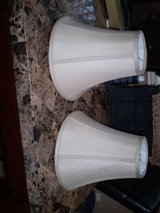 """2 Beige Lamp Shades, Approx 10"""" Tall in Houston, Texas"""