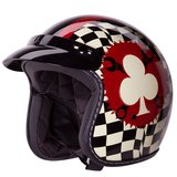 Motorcycle Helmet 3/4 retro style DOT new never used in San Diego, California