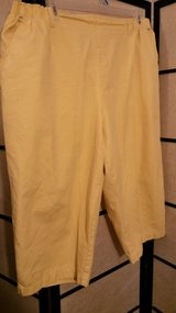 Yellow capri Size 26 in Camp Lejeune, North Carolina