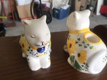 Cat candle holders in Camp Lejeune, North Carolina