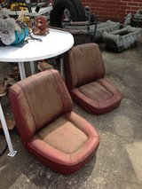 Vintage bucket seats in Warner Robins, Georgia
