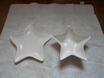 Potter Barn Star Plate & Bowl in Spring, Texas