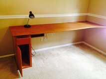 Homemade Desk with Integrated CPU Cabinet and cord management in Kingwood, Texas