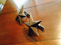 Cast Iron Star Curtain Tie Backs (2) in Kingwood, Texas