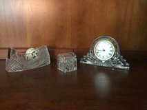 Vintage Crystal Legends by Godinger Desk Set in Lockport, Illinois