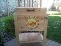 CEDAR WOOD RUSTIC ICE CHEST in Fort Bliss, Texas