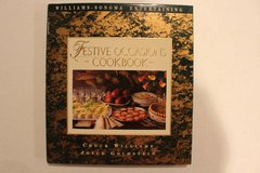 Williams Sonoma Festive Occassions Cookbook in St. Charles, Illinois