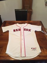 MAJESTIC AUTHENTIC RED SOX JERSEY #34, NEW, NEVER WORN, TAGS STILL ON in Ramstein, Germany