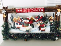 Snowman wall hanging in Bolingbrook, Illinois
