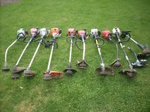 L@@K  MISC. LAWN EQUIPMENT; TRACTORS, BLOWERS,MOWERS, EDGERS, TRIMMERS, SPREADERS, CART, FULL LI... in Yorkville, Illinois