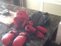 Tae Kwon Do Sparring gear for child in Fort Leavenworth, Kansas