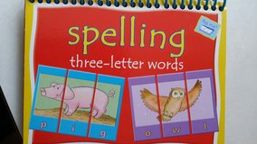 Spelling three letter words Flip book in Fort Lewis, Washington