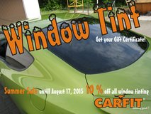 Window Tint by CARFIT in Grafenwoehr, GE