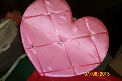 Pink heart shape photo holder in Conroe, Texas