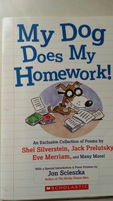 SCHOLASTIC:  My Dog Does My Homework! in Fort Lewis, Washington