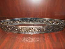 Oval Shape Metal Tray in Kingwood, Texas