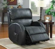 Top Grain Leather POWERLIFT recliner Chair - INCLUDES Setup & Delivery in Savannah, Georgia