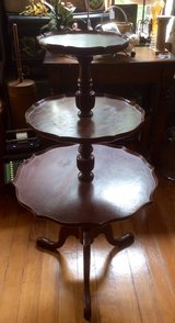 """Nice Antique Wooden Three Tier Table in Fort Leonard Wood, Missouri"