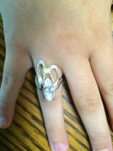 Sterling Silver Ring with Marquise cut stone in Baytown, Texas