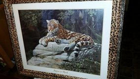 Tiger Frame Picture in Fort Campbell, Kentucky