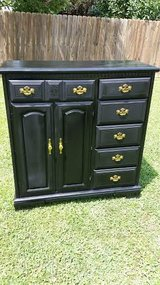 Black Armoire Chest Of Drawers in Fort Campbell, Kentucky