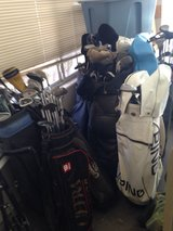 golf clubs with bags in Alamogordo, New Mexico