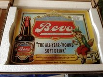 Anheuser-Busch Beer Bevo Glass Cutting Board in Aurora, Illinois