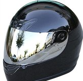 Motorcycle Helmet Black full face DOT new never used in San Ysidro, California