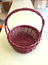 Large Red Basket in Aurora, Illinois