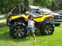 2009 Can-Am Outlander 4-wheeler ATV in DeRidder, Louisiana
