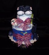 Diaper Cake - Baseball Theme - $35.00 in Spring, Texas