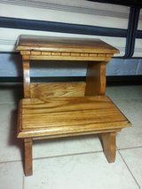 Hardwood 2 step stool in Yucca Valley, California